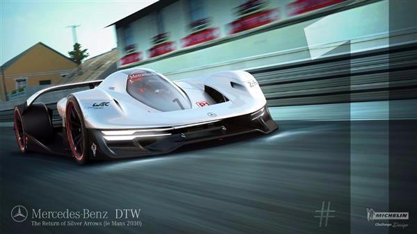 未来汽车的样子 奔驰可3d打印定制轮胎