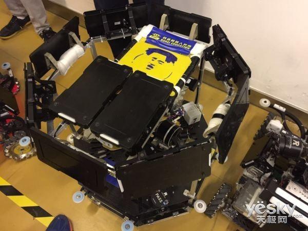 电子科技大学再夺全国大学生机器人大赛冠军