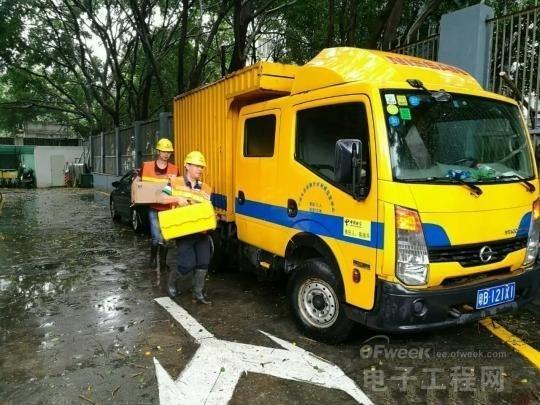 """""""妮妲""""以强台风级别在深圳市登陆 致多地通讯设施受损"""