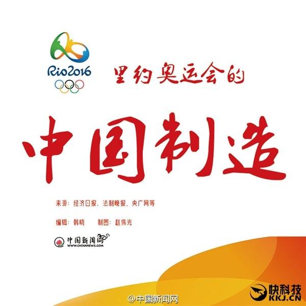 不只是体育场的竞技 中国制造与你相约里约奥运会!