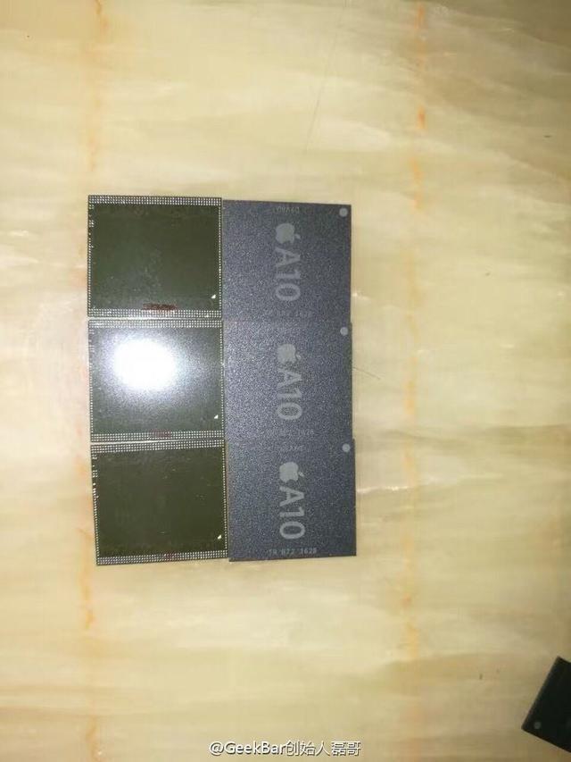 苹果A10芯片再曝光 CPU主频速度了1GHz?