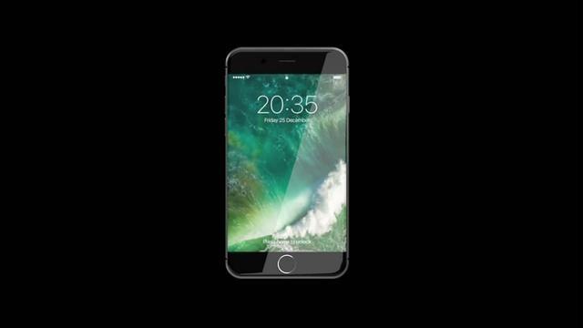 iPhone 8概念设计:曲面屏幕 蓝宝石玻璃面板
