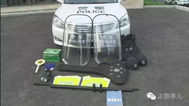 威严帅气——首都民警执勤装备标准正式试行