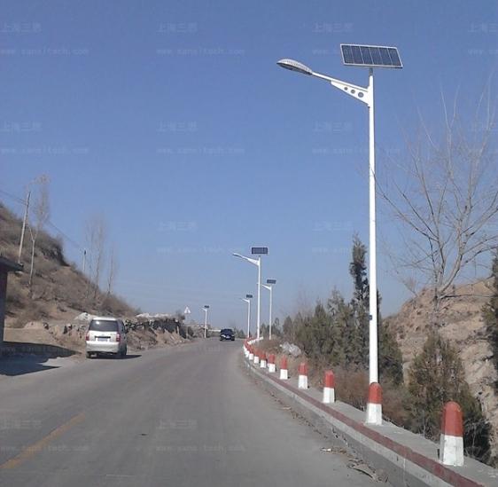 三思推出经济型C0830系列LED陶瓷路灯 助力乡村指�c建设
