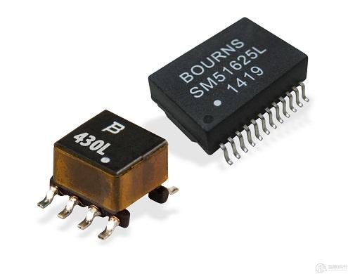 Bourns针对以太网与PoE应用推出最新变压器产品