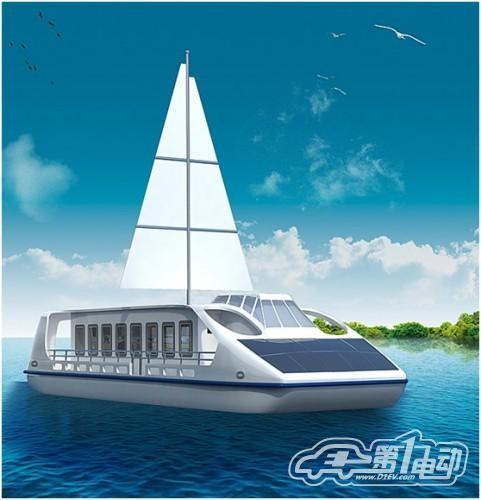 湖北首艘太阳能电动船将下水考验国产电池