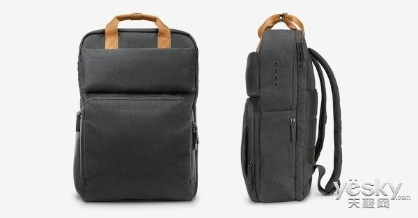 惠普推出笔记本充电背包 内含22400mAh电池