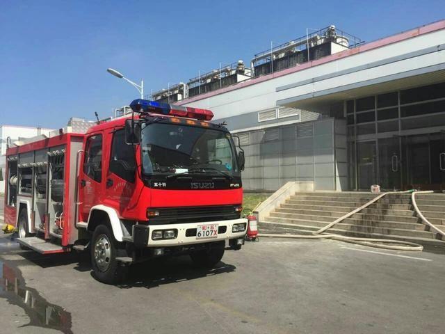 南京LG化学厂房失火 着火点系锂电池生产设备