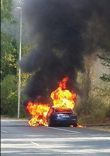 特斯拉Model S再度起火 充电功能存在问题?