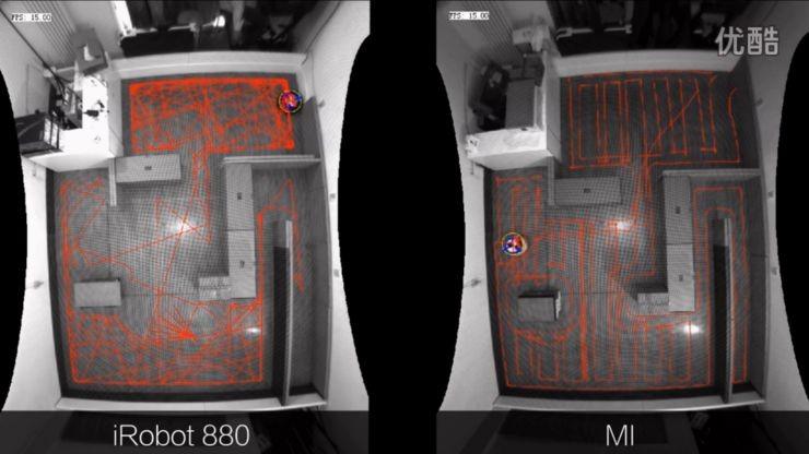 小米扫地机器人pk irobot880视频流出