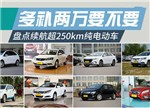 盘点续航超250km的纯电动汽车