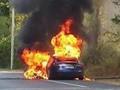 特斯拉Model S在法国闯祸了:试驾时发生自燃(图)