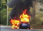 特斯拉再出事故:Model S在法试驾中起火