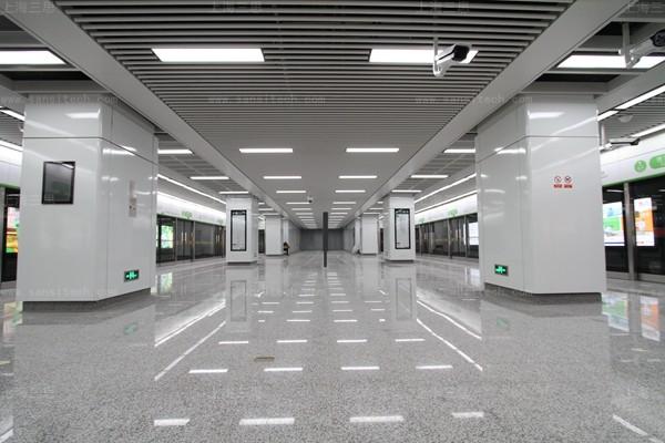 在杭州G20地铁专列邂逅三思地铁LED照明的科技之美