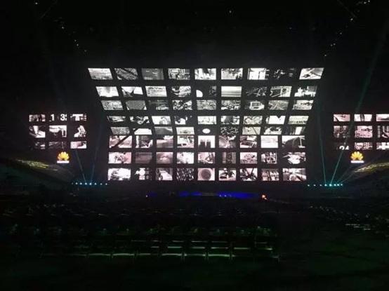 艾比森LED显示屏于华为生态大会绽放异彩