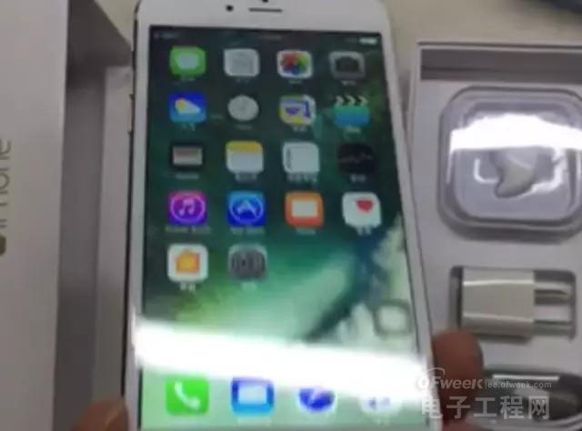 网曝iPhone7开箱视频:竞取消了这个功能