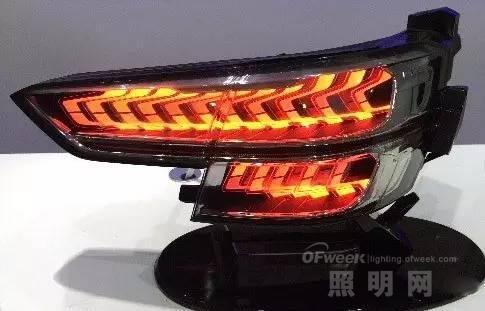 OLED车载照明市场急剧攀升