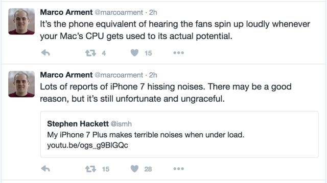 苹果A10芯片缺陷曝光 高负荷运行会发出声响