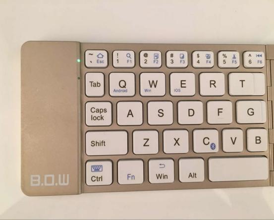 移动互联网时代 BOW航世HB022键盘让你的生活如虎添翼