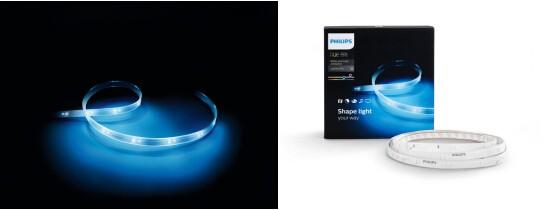 Philips Hue升级版灯带测评:见光不见灯的魔性照明