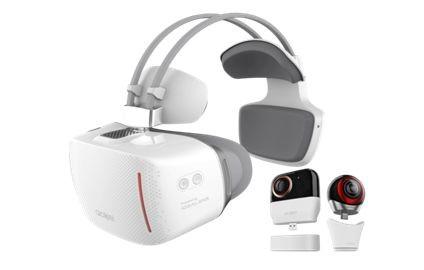 TCL推出无线VR一体机VISION、VR摄像头Alcatel 360