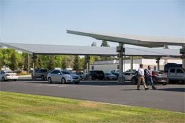 SunPower,光伏车棚系统