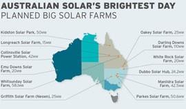 澳大利亚,太阳能电站