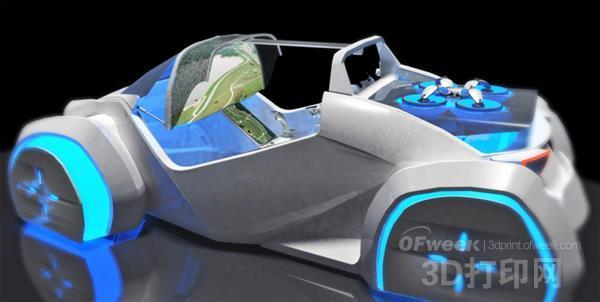 Local Motors称要打造带无人机的自动驾驶3D打印汽车