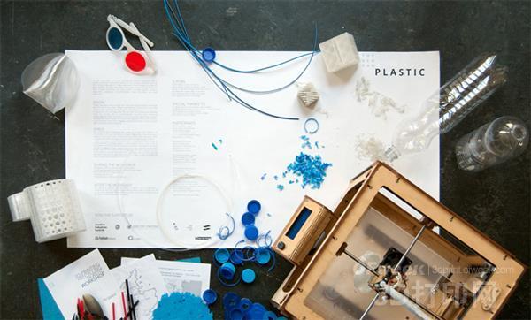 初创企业将塑料垃圾转化为有用的3D打印项目