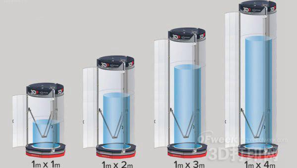 XL-Delta 3D打印机概念