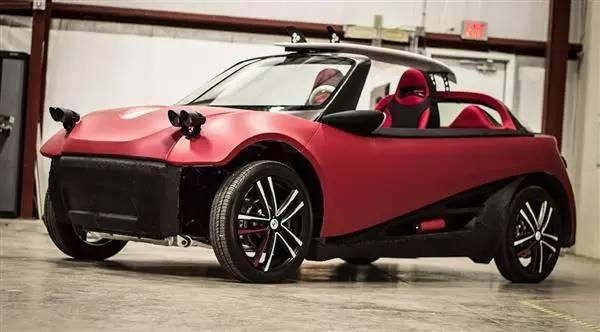Local Motors打造的LM3D