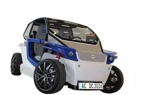 StreetScooter造的原型电动车C16
