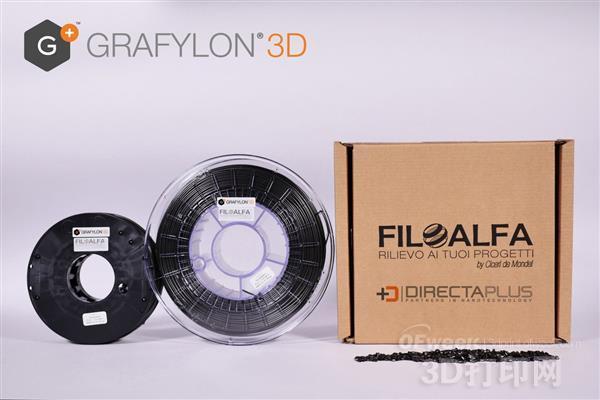 新型石墨烯PLA 3D打印顶级耗材面世