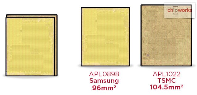 A10 Fusion核心面积更大 封装使用台积电 InFO 技术?