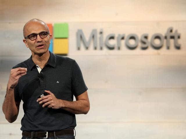 微软宣布再回购400亿美元股票 股价大涨