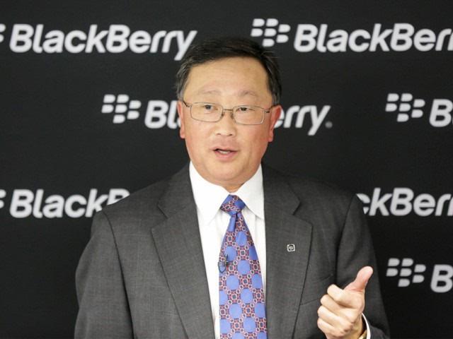 黑莓CEO程守宗:公司转型已完成大部分