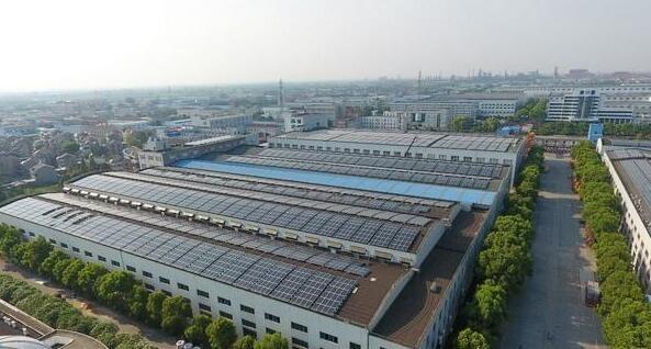 常州最大分布式屋顶光伏发电项目并网