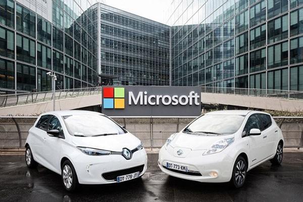 又是黑科技 雷诺-日产联合微软开发智能互联汽车