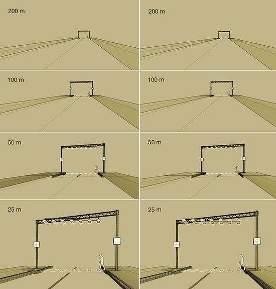 俄罗斯发明空中斑马线 让道路更安全 ?