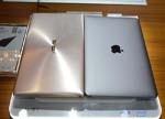 华硕灵耀3美女上手玩:对比12寸MacBook如何?略薄一丢丢?(图)