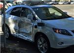 谷歌无人驾驶汽车再出事故 遭遇最严重车祸