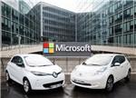 雷诺-日产联合微软开发智能互联汽车