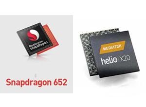 高通骁龙652与联发科Helio X20对比评测:骁龙820称第一 谁称第二?