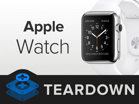 AppleWatch拆解难度高到没朋友