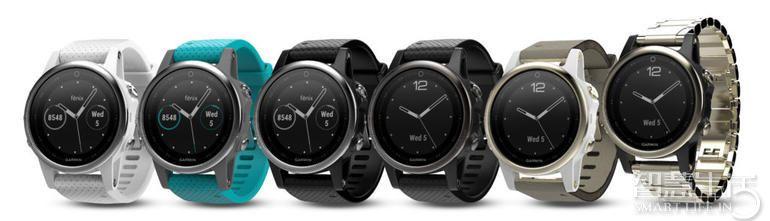 CES  2017:佳明推出三款新型运动手表Fenix  5系列 多种尺寸可选