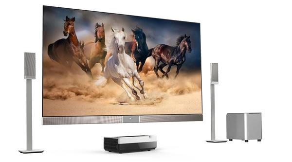 【聚焦 CES 2017】:海信发布全新4K激光电视Hisense 100H10D