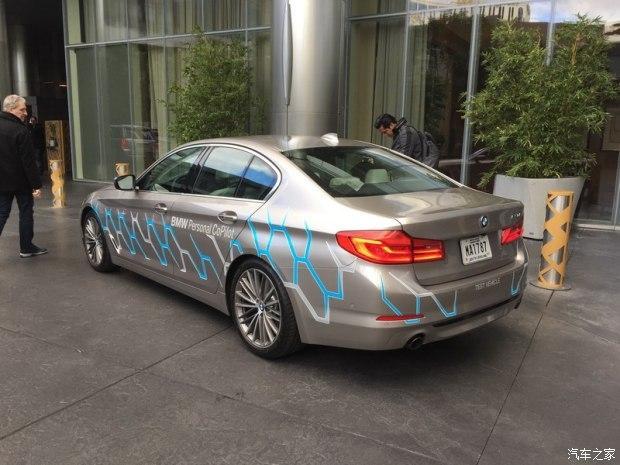 【聚焦 CES 2017】:宝马集团发布宝马5系轿车的自动驾驶原型车
