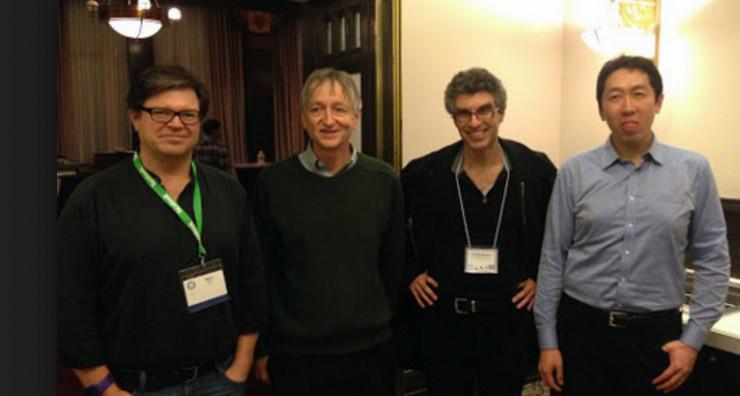 Yoshua Bengio:从机器学习到人工智能,聚焦机制是核心 作为与 Yann LeCun、 Geoffrey Hinton 齐名的「深度学习三巨头」,Yoshua Bengio 同样是学界不可忽视的一名执牛耳者,他自 1993 年在蒙特利尔大学任教。谷歌于今年 11 月宣布建立蒙特利尔算法学习人工智能实验室(MILA),共计投资 340 万美元,资助蒙特利尔大学和麦吉尔大学旗下七名重量级教授及超过 150 名研究者的日常实验。而自然,Yoshua Bengio 也在其列。他领导下的深度学习实验室可