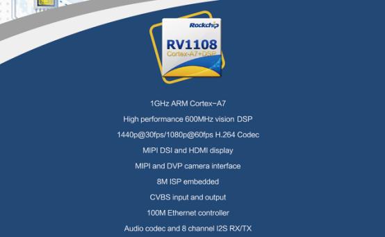 100万次播放刷爆朋友圈的瑞芯微RV1108 CES抢眼球