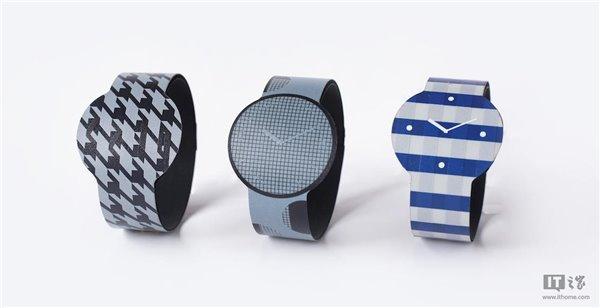 索尼第二代电子墨水屏智能手表亮相:可显示彩色图案